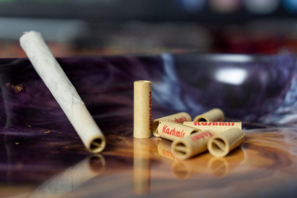 Kashmir Tips inside a joint
