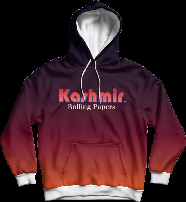 Kashmir pullover hoodie