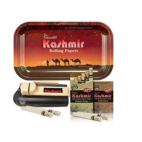 Rolling-Papers-With-Filters-Pre-Rolled-Cigarette-Tubes-With-Tray-and-Injector-machine-By-Kashmir-Desert