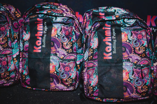 Kashmir Rolling Papers Iconic Backpack
