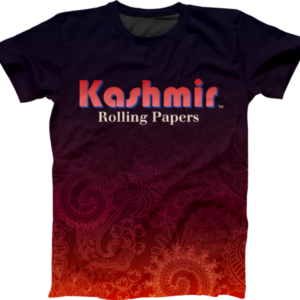 Kashmir Rolling Papers Iconic Tshirt