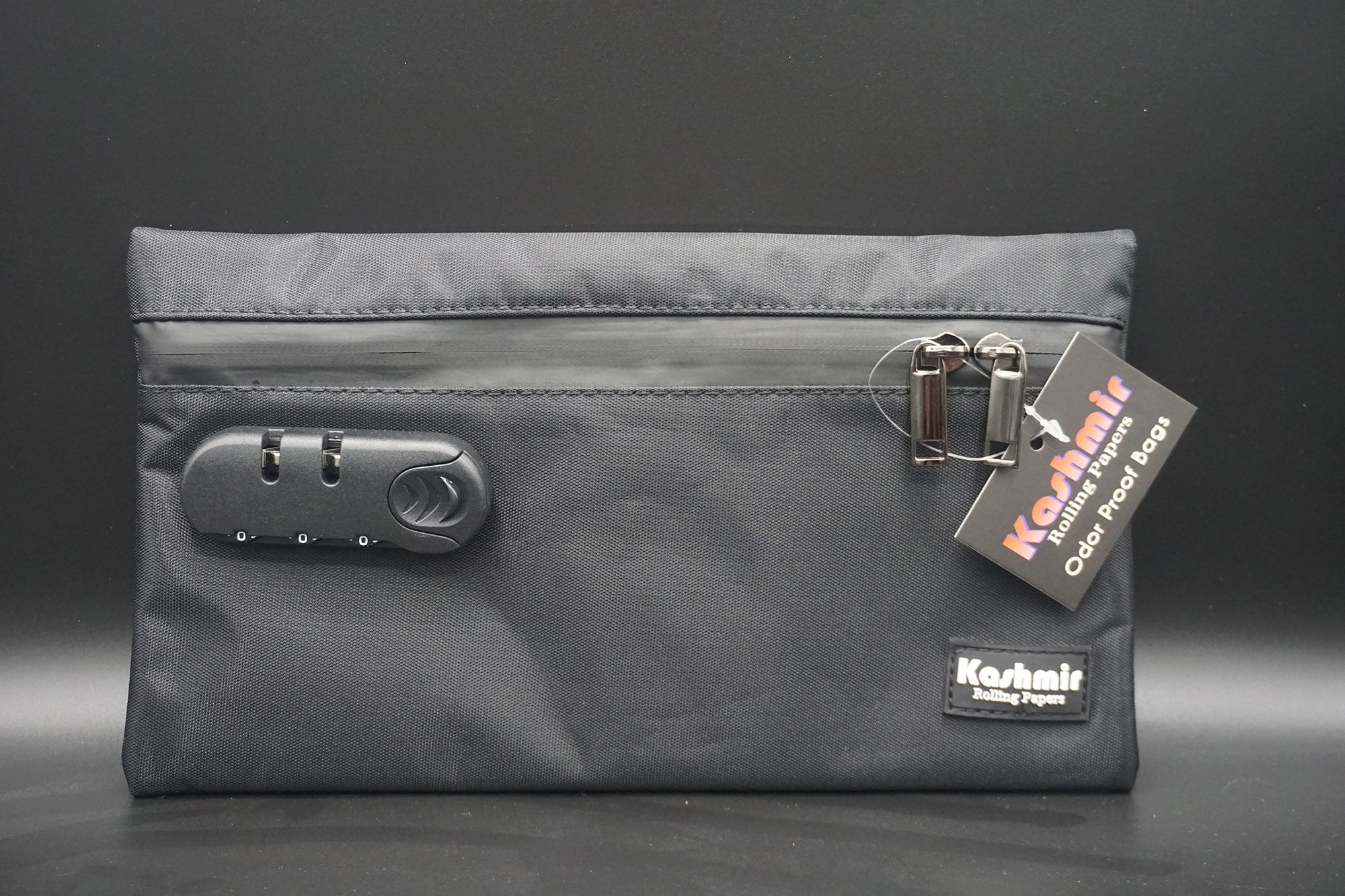 button to buy black protection pouch